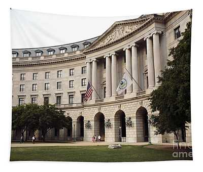 Government Achitecture In Washington Dc Tapestry