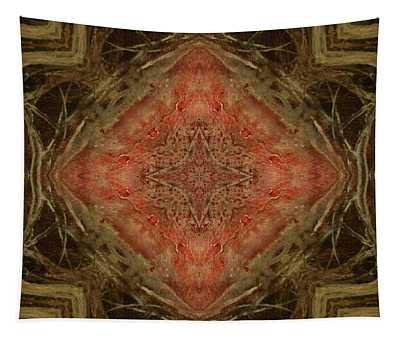 Grace Mandala Tapestry