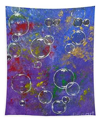 Graffiti Bubbles Tapestry
