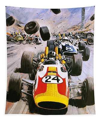 Graham Hill Tapestry