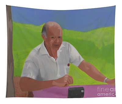 Grampa Wiegand Tapestry