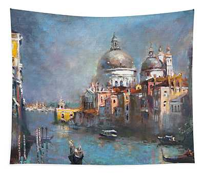 Grand Canal Venice 2 Tapestry
