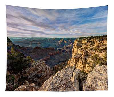 Grand Canyon National Park Spring Sunset Tapestry