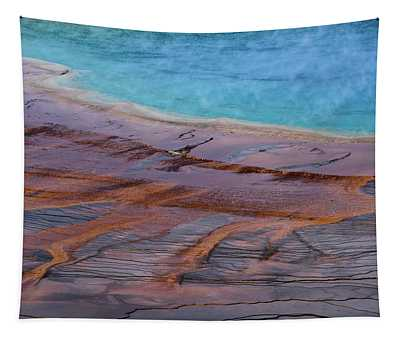 Grand Prismatic Spring Detail Tapestry