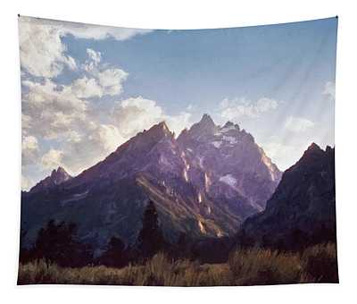 Grand Teton Tapestry