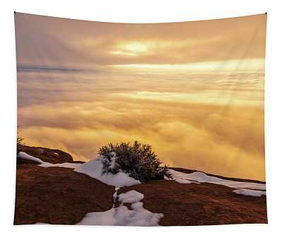 Grand View Glow Tapestry