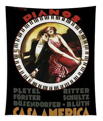 Grandest Pianos At Casa America  1930 Tapestry
