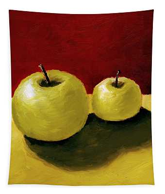 Granny Smith Apples Tapestry