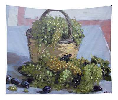 Grapes From Kostas Garden Tapestry