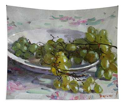 Grapes From Lida's Garden Tapestry