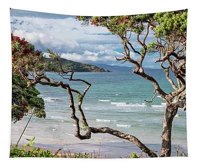 Great Barrier Island New Zealand View Tapestry