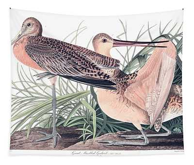 Great Marbled Godwit Tapestry