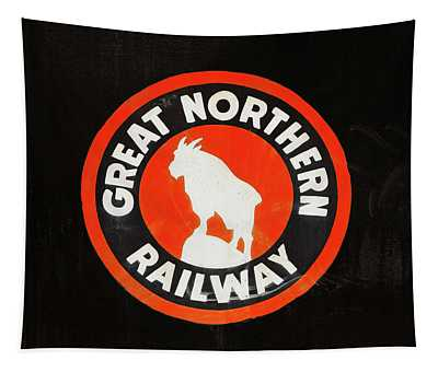 Great Northern Logo Tapestry