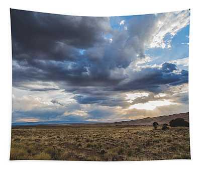 Great Sand Dunes Stormbreak Tapestry