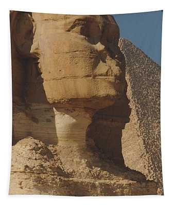 Tapestry featuring the photograph Great Sphinx Of Giza by Travel Pics