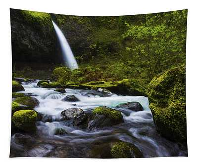 Green Avenue Tapestry