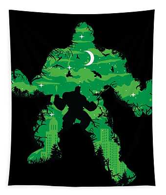Green Monster Tapestry