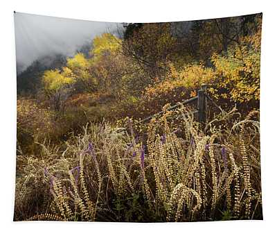 Green Mountain Dawn Tapestry
