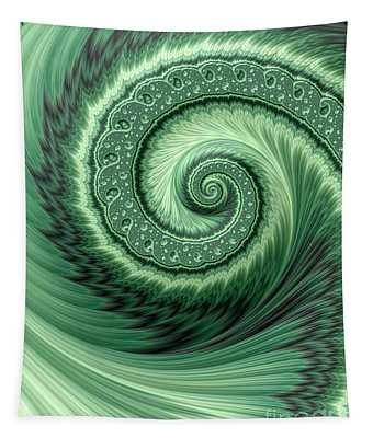 Green Shell Tapestry