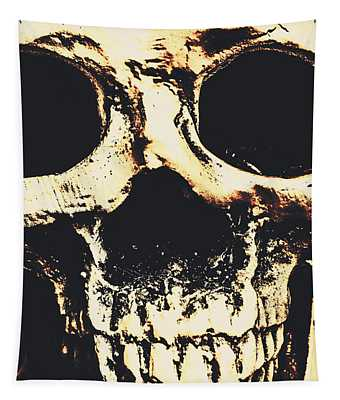 Grim Grin Tapestry