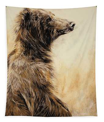 Grizzly Bear 2 Tapestry