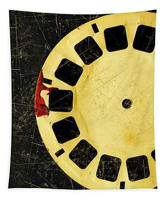 Grunge Toy Artwork Tapestry