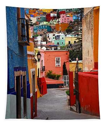 Guanajuato Lane Tapestry