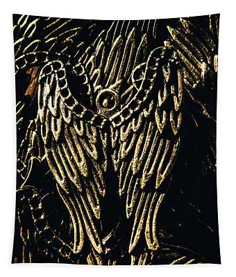 Guardian Angel Charms Tapestry