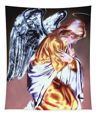 Guardian Angel Tapestry