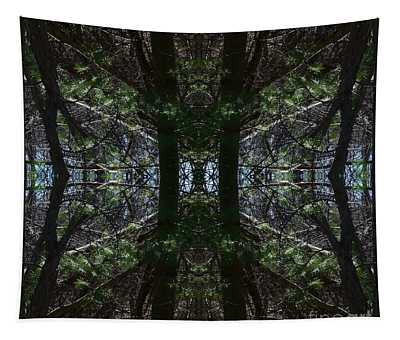 Guards Of The Forest Tapestry