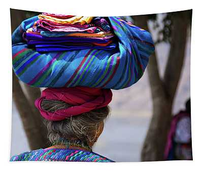 Guatemalan Traditional Crafts Tapestry