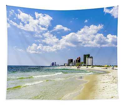 Gulf Shores Al Beach Seascape 1746a Tapestry