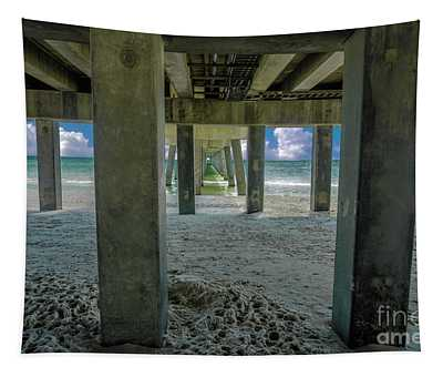 Gulf Shores Park And Pier Al 1649 Tapestry