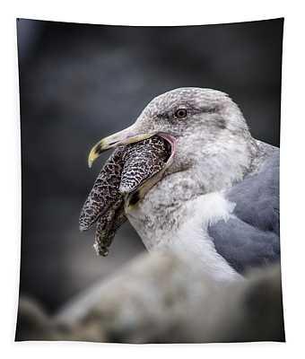 Gull And Seastar Tapestry