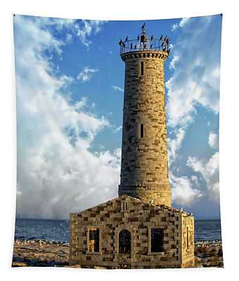 Gull Island Lighthouse Tapestry