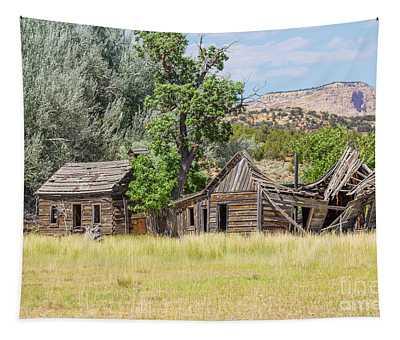 Gunsmoke Tv Western Set Near Kanab Utah Tapestry