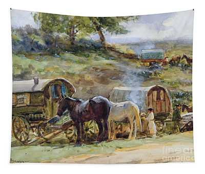 Gypsy Encampment Tapestry