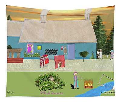 Habitants Version 7 Tapestry