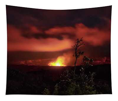 Halemaumau Crater Tapestry