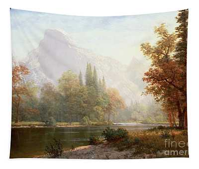 Half Dome Yosemite Tapestry