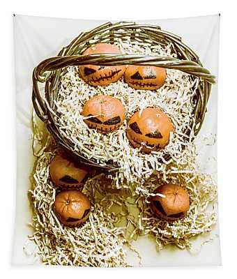 Halloween Food Decoration Tapestry