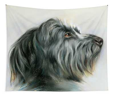 Hamish The Wolfhound Tapestry