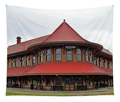 Hamlet Train Station Tapestry