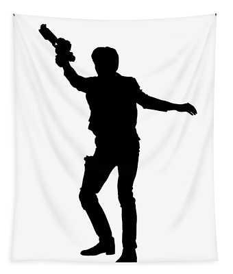 Han Solo Star Wars Tee Tapestry