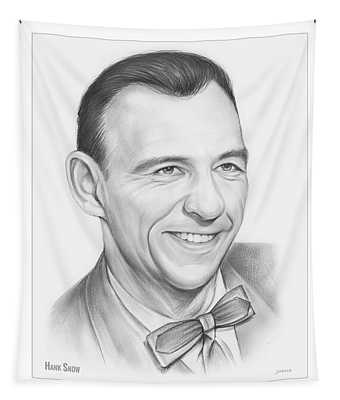 Hank Snow Tapestry