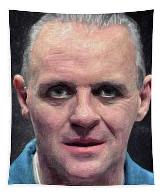 Hannibal Lecter Tapestry