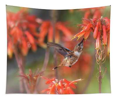 Happy Little Rufous  Tapestry
