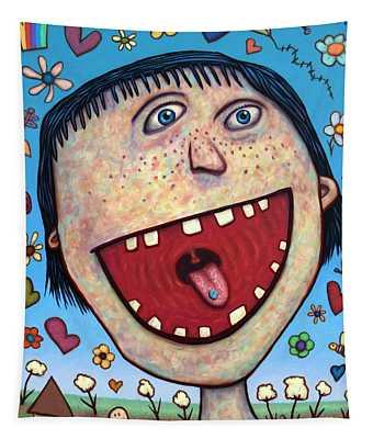 Happy Pill Tapestry