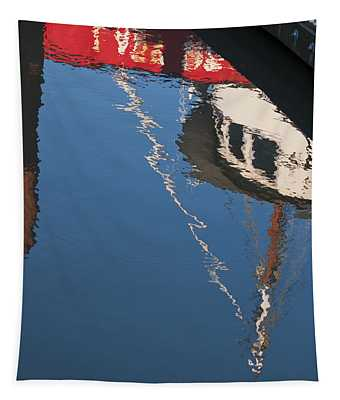 Harbor Reflections Tapestry