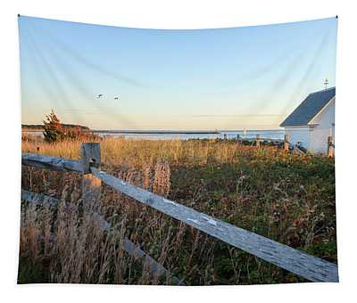 Harbor Shed Tapestry